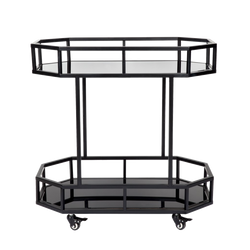 Townhouse Drinks Trolley - Black