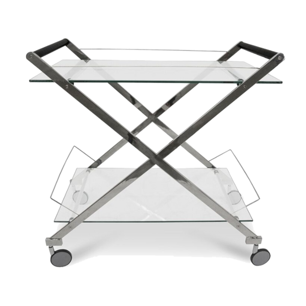 IT Silver Drinks Trolley