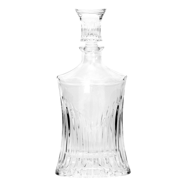 Antique style round fluted decanter - Luxury Barware | Perth WA