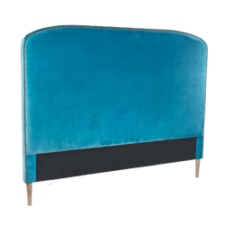 Bordeaux Rounded Bedhead - Teal