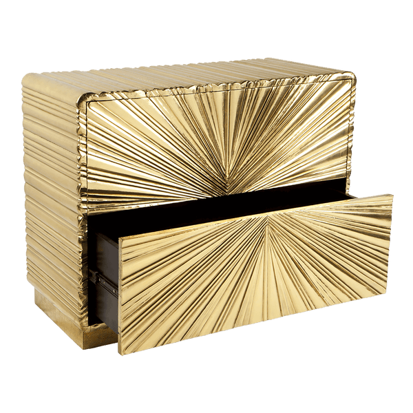 Art deco style gold vintage 2 drawer chest | Buffets & consoles, Perth WA