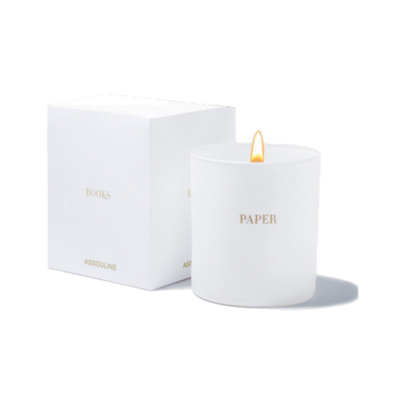 Paper Library Candle by Assouline