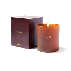 Wood Library Candle by Assouline