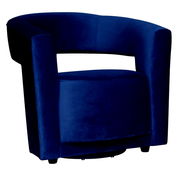Laurel Swivel Chair - Navy