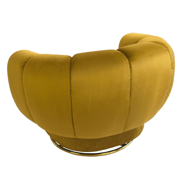 Honeycomb Mila Swivel Chair | Siena Swivel Chair | Luxury Furniture, Perth WA