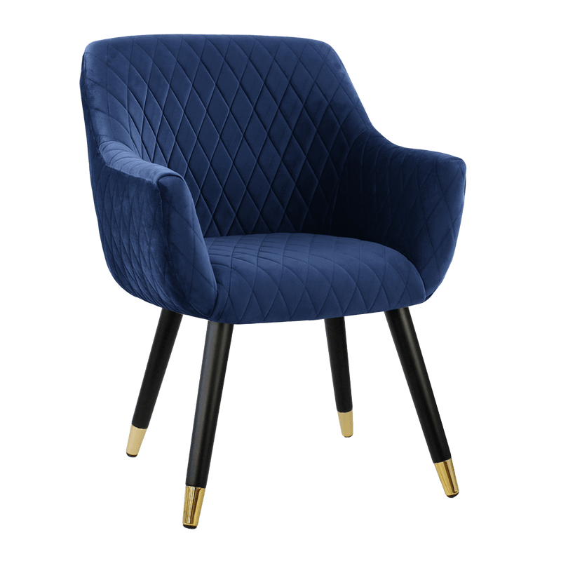 Townhouse Quilted Chair - French Navy
