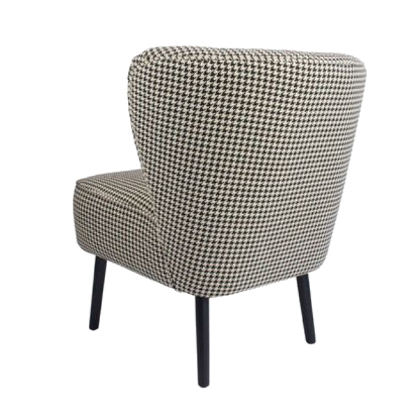 The Como Chair - Houndstooth