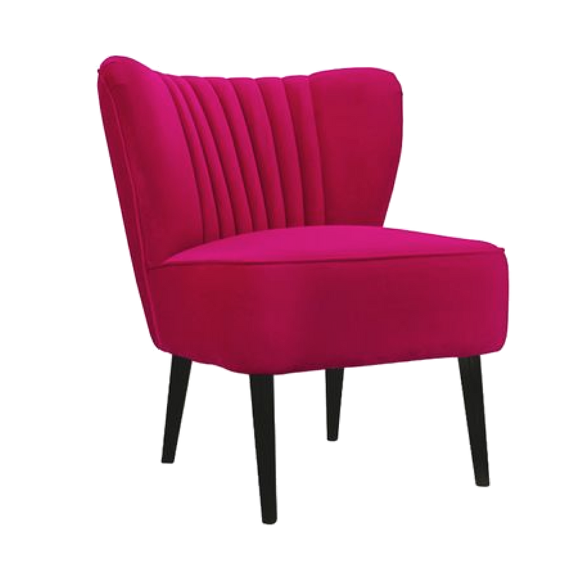 The Como Chair - Hot Pink