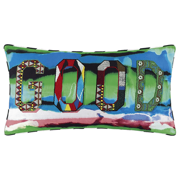 Christian Lacroix Bad is Good! Arlequin Cushion | Luxury cushions & homeware - Perth, WA