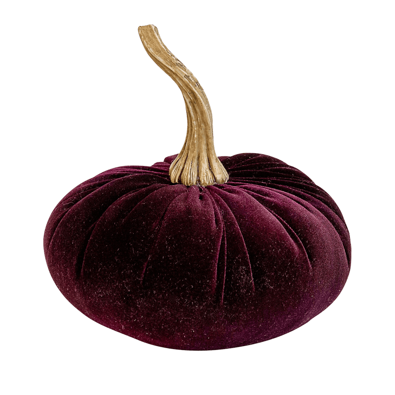 Purple velvet pumpkin | Decorative accessories - Perth WA