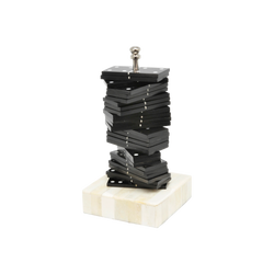 Black and White Domino Stack