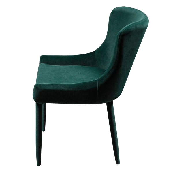 Hallie Dining Chair - Forest Green