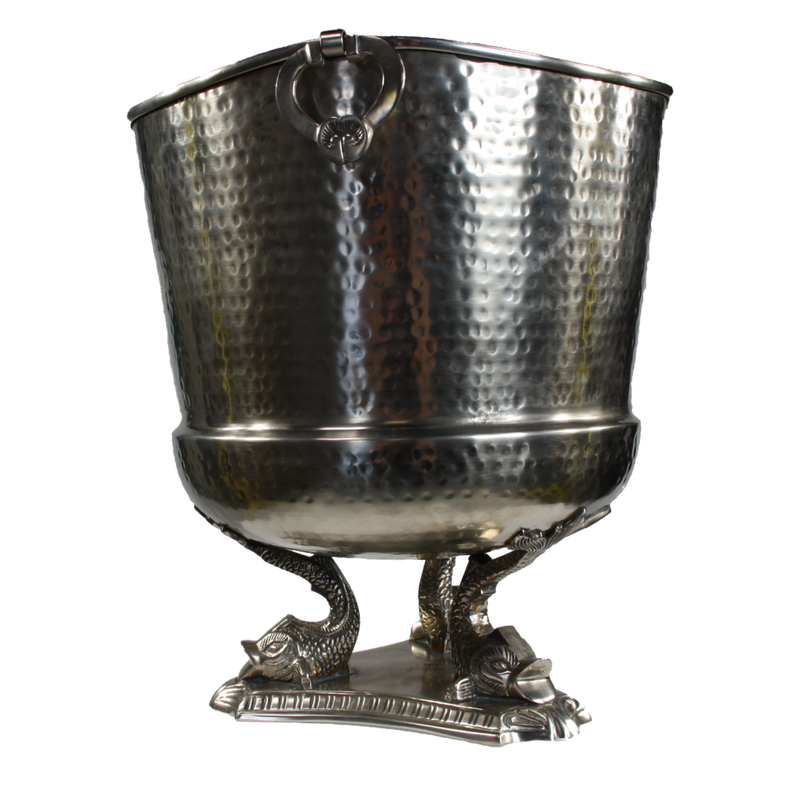 Delphine Pewter Wine Cooler