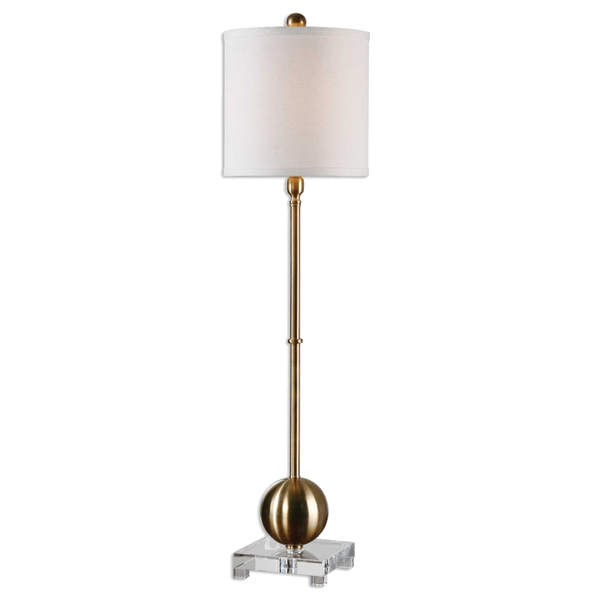Brass plated floor lamp | Lighting, lamps and pendants - Perth WA