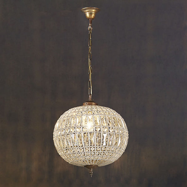 Palermo 1 light pendant | Brass & Glass Hanging Lamp | Lighting & Ceiling Pendants Perth WA