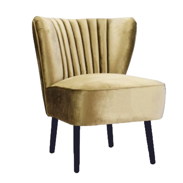 The Como Chair - Gold