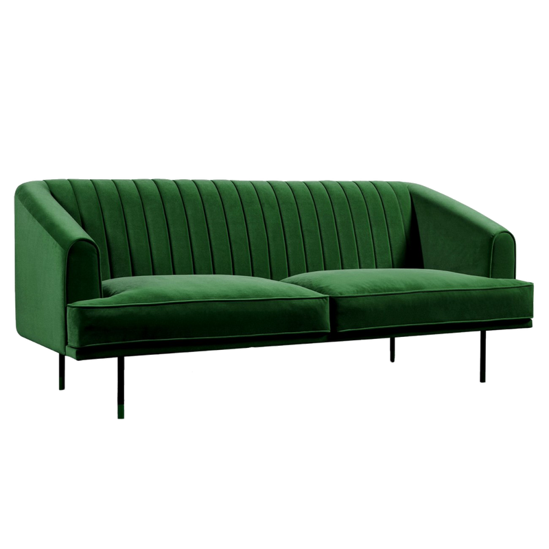 Margot 3 Seater Sofa - Emerald Green