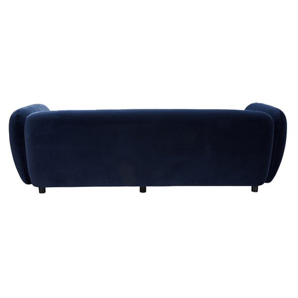 Navy blue 3 seater velvet sofa | Sofa's, lounges and couches, Perth WA
