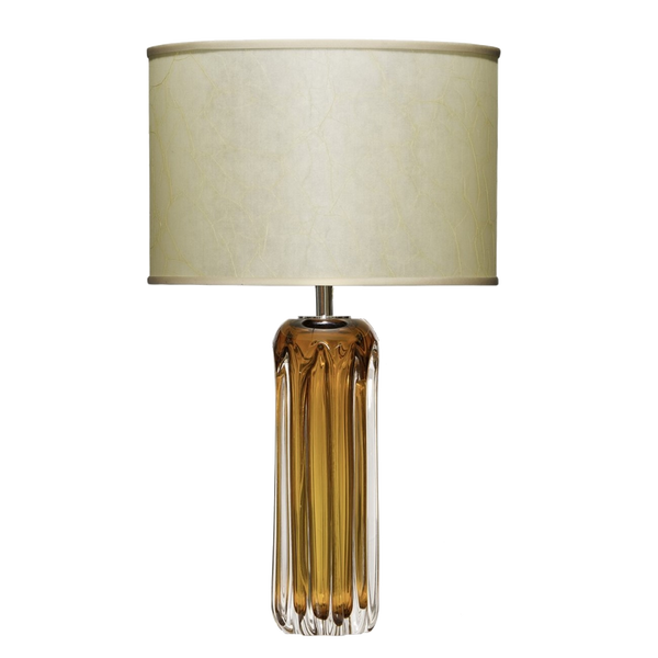 Murano Amber Table Lamp