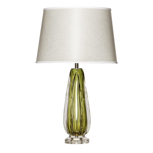 Murano Green Table Lamp