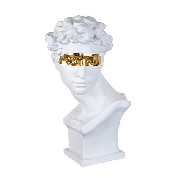 Masquerade Bust White