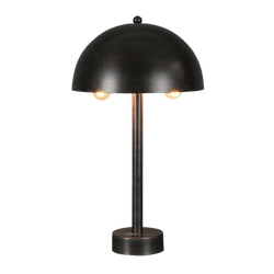 Matte black dome metallic table lamp | Ceiling lighting and lamps - Perth WA