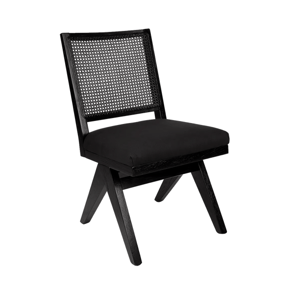 Aubrey Chair - Black/Black