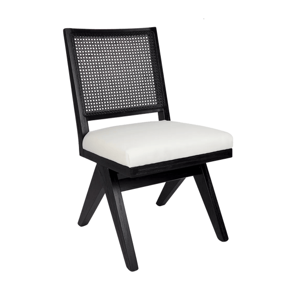 Aubrey Chair - Black/White