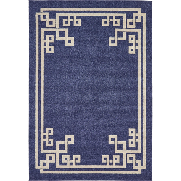 Apollo Navy and Cream Rug 215cm x 305cm