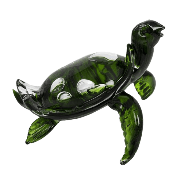 Green glass turtle ornament | Decorative home accessories, Perth WA