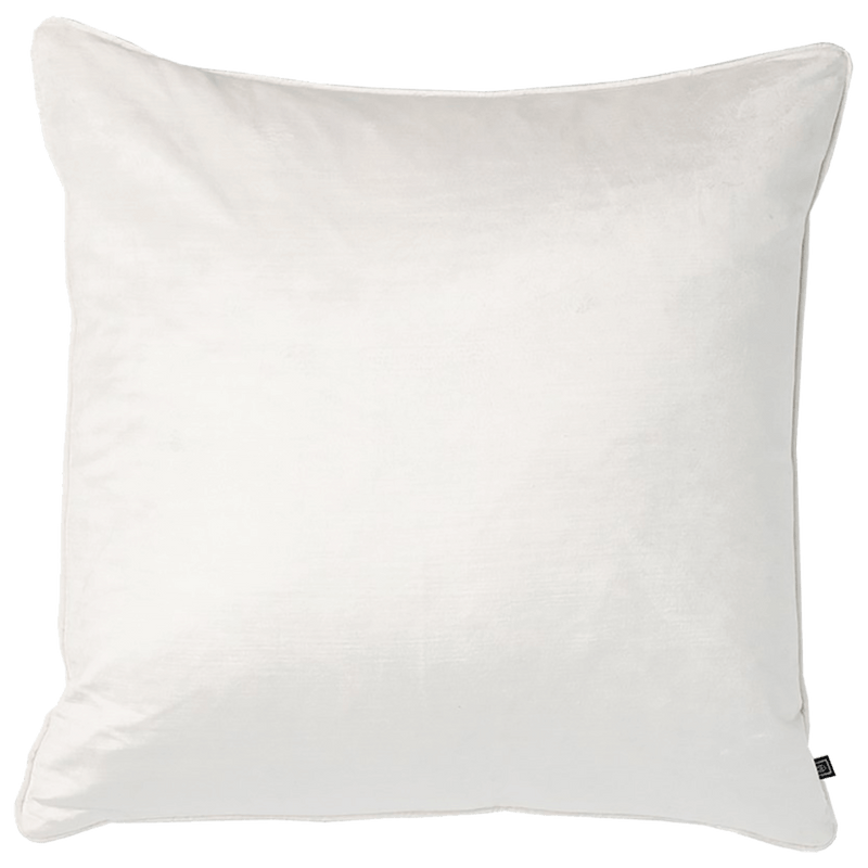 Square white velvet cushion | Rapee Roma Cushion Perth WA