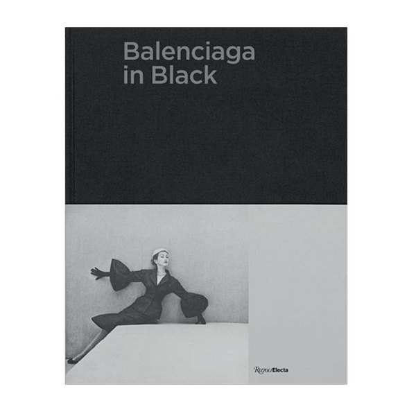 Balenciaga in Black Coffee Table Book ISBN 9780847866144 | High Fashion & Table Accessories Perth WA