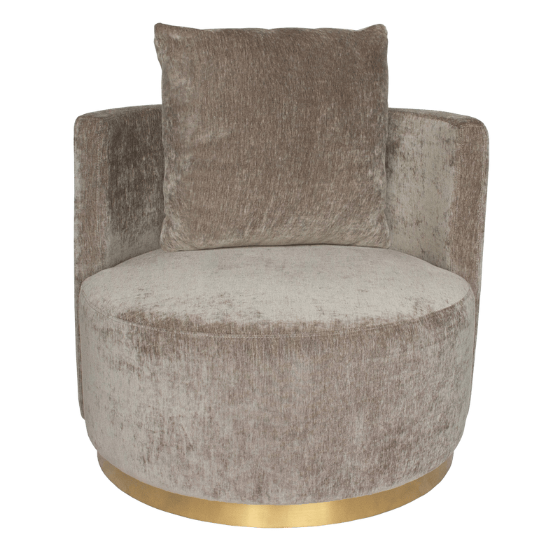 Milan Love Seat - Grey Velvet | Darcy & Duke, Perth WA
