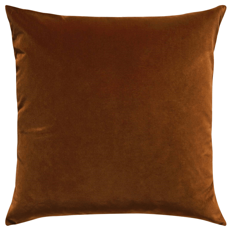 Tobacco / Turmeric velvet cushion | Home accessories Perth WA