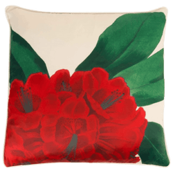 Creatively Active Minds Oriente Cushion Rhododen | Floral cushion, flower cushion - Perth, WA