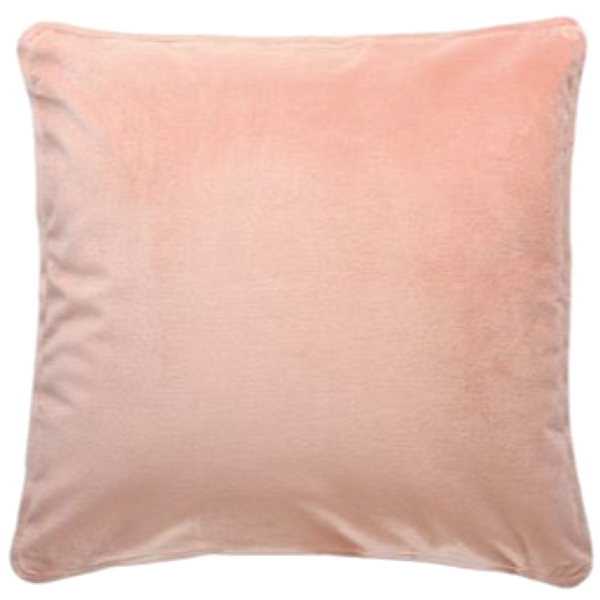 Velvet  Cushion - Pink Peach