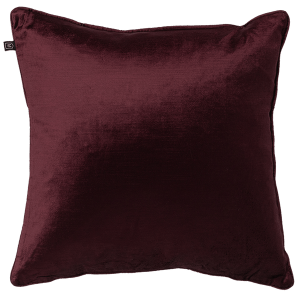 Rapee Roma Velvet Square Cushion Plum | Velvet cushions, luxury cushion - Perth, WA