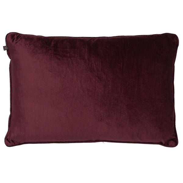 Rapee Roma Velvet Cushion Plum | Velvet cushion, luxury cushion - Perth, WA