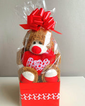 "Load image into Gallery viewer, Mr Leon "" Love"" Valentine Bear"