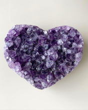 Load image into Gallery viewer, Amethyst Cluster Heart 7cm