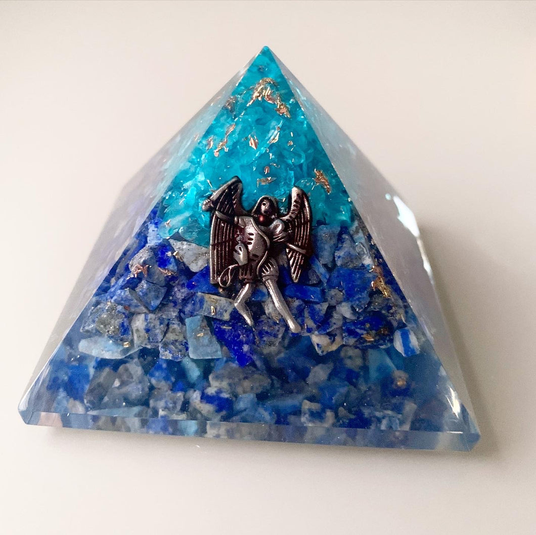 Orgonite Pyramid Archangel Michael