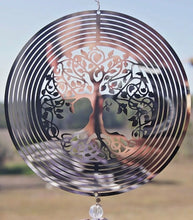 Load image into Gallery viewer, Tree of Life Sun Catcher
