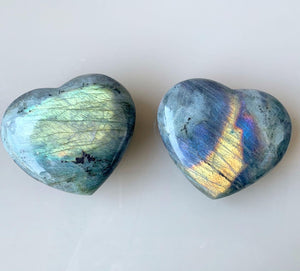 Labradorite Puffy Heart 💕 - A