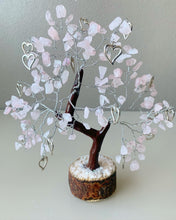 "Load image into Gallery viewer, Rose Quartz ""Love"" Bonsai Gem Tree"