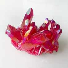 Load image into Gallery viewer, Ruby Aura Quartz - Small