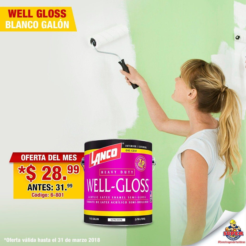 WELL GLOSS (BLANCO)