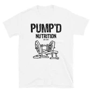 Pumpd 2011 Throwback Short-Sleeve Unisex T-Shirt