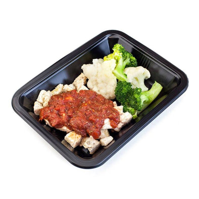 Tomato Chicken with Broccoli & Cauliflower | Icon Meals