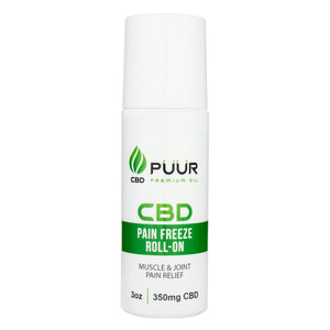 CBD 350mg PAIN FREEZE ROLL ON - 2Pack