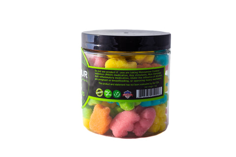 Image of CBD Sour Gummy Bears